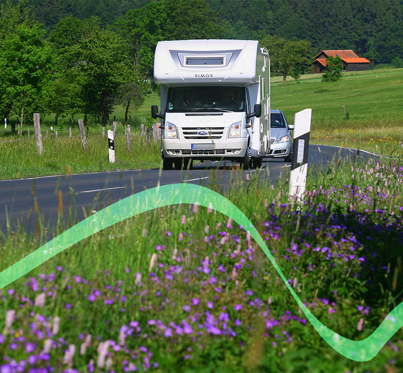 Rhön Camping-Park – Anreise Wohnmobil