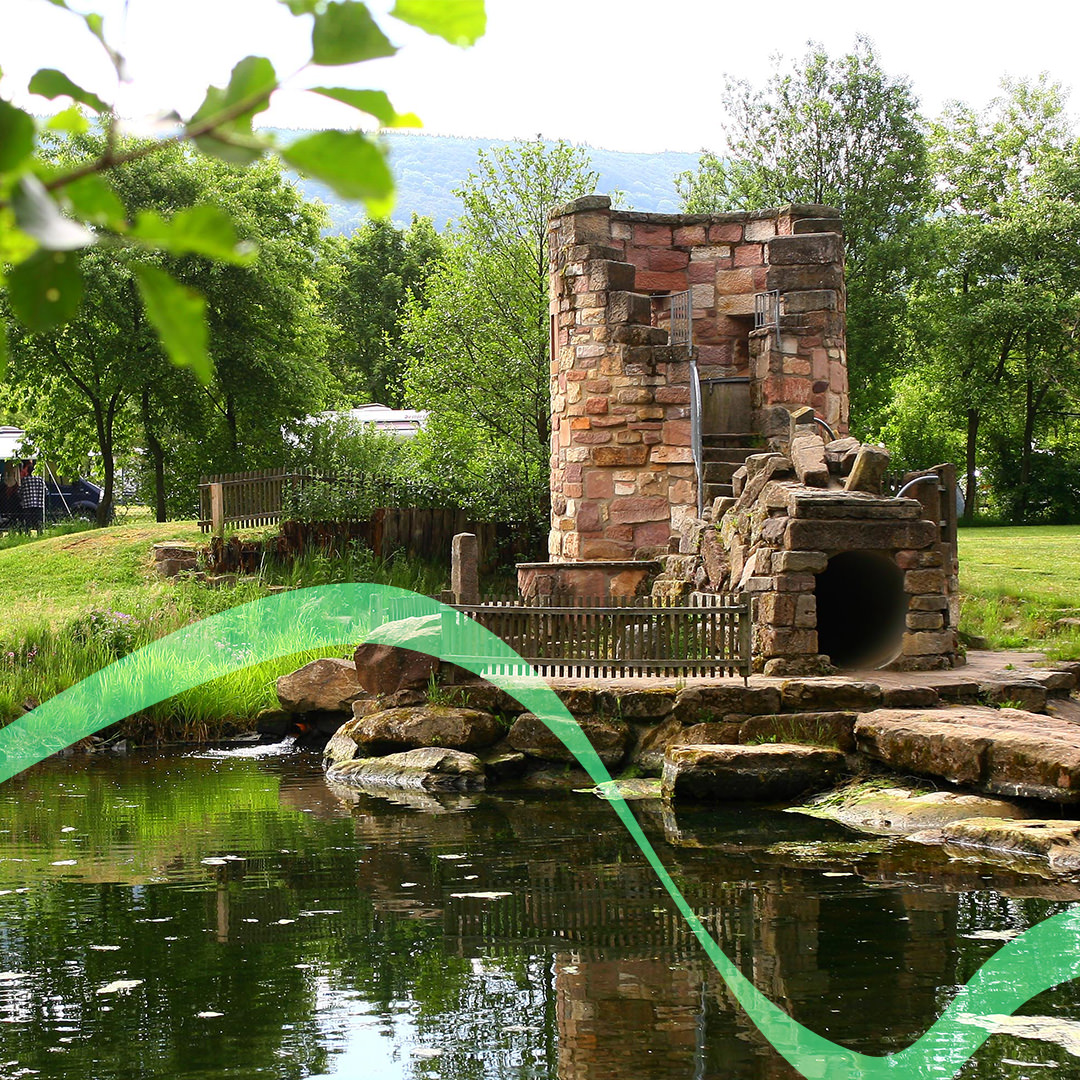 Rhön Camping-Park – Themenpark Wasser mit dem Herrenwasserturm